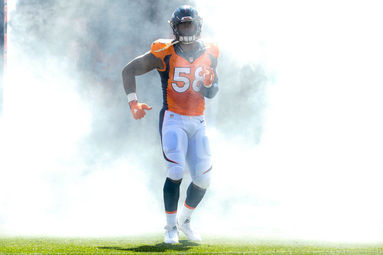 Get a grip football fans, the Atlanta Falcons won't be trading for Von Miller