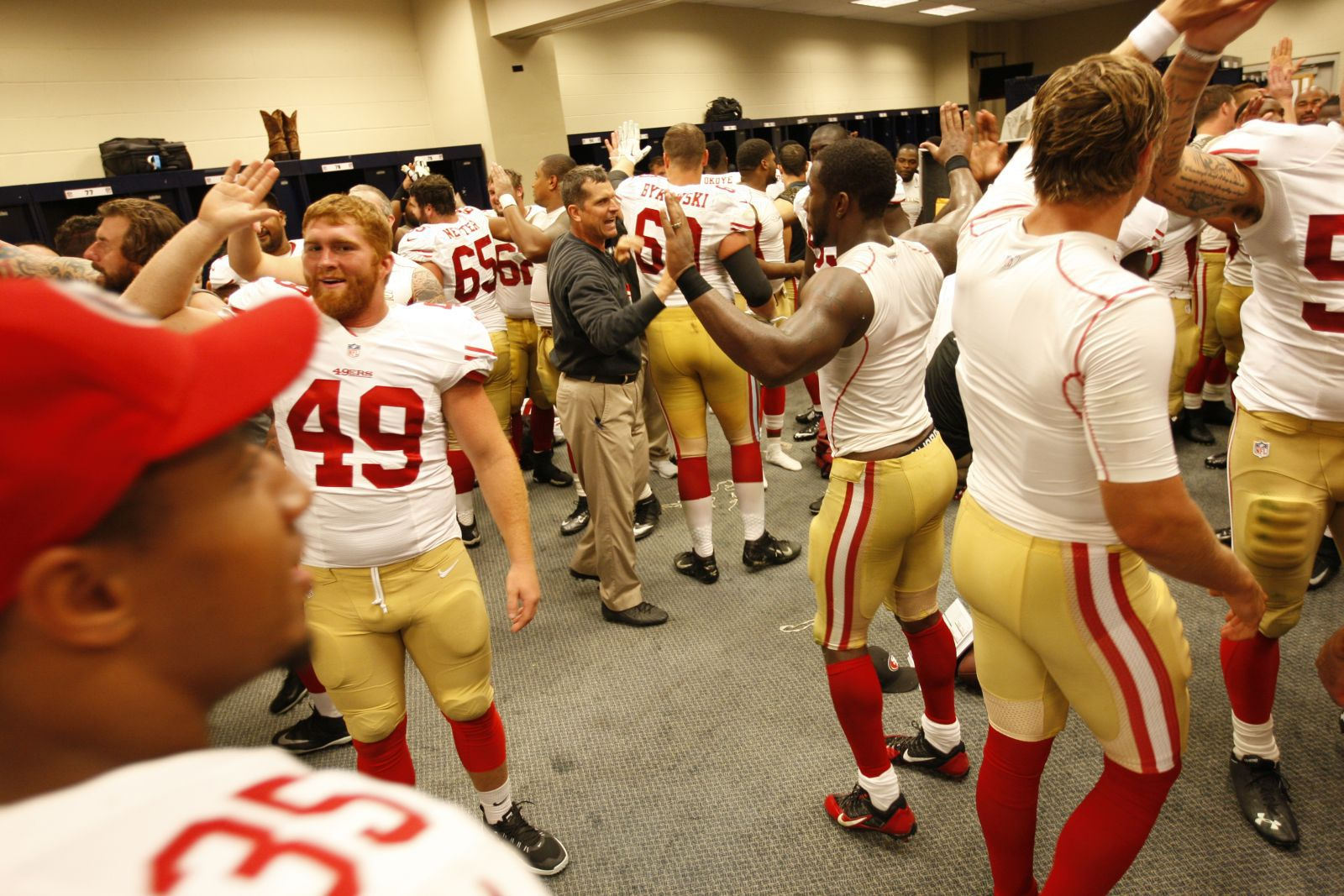 Nike NFL Jerseys - Hot shots: Colin Kaepernick's abs, Blaine Gabbert's butt - Outsports