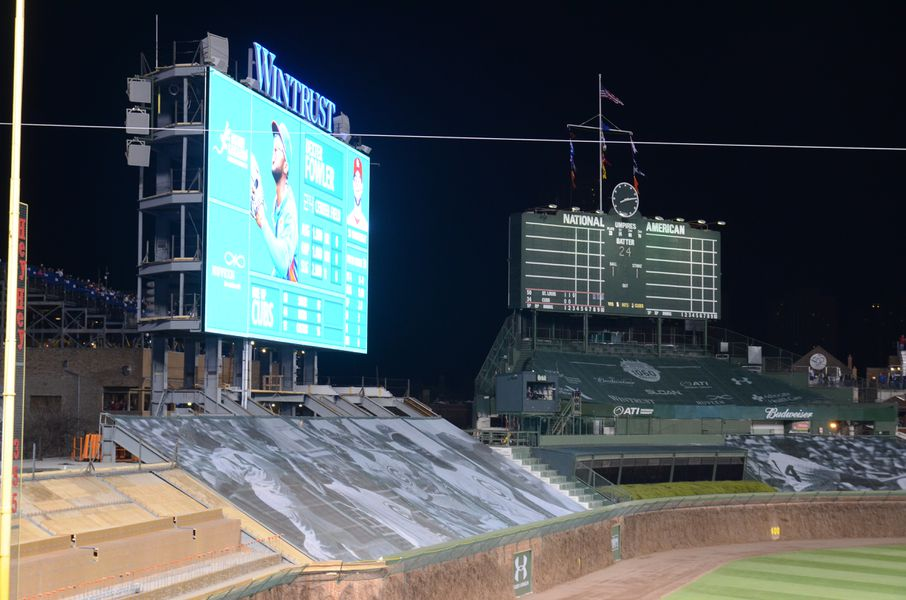 The New Wrigley Field Video Boards Yes Restrooms No