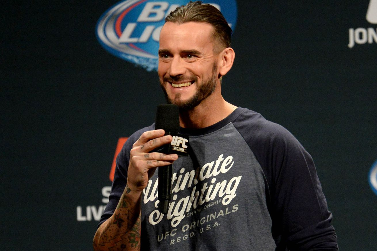 Gall: CM Punk gave me 'nice' 'motivational' message after UFC 203 bout