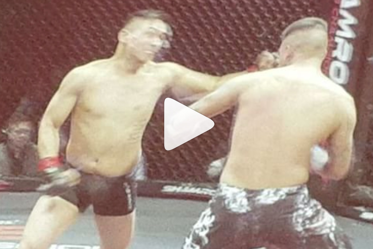 community news, Video: Insane double knockout drops two MMA fighters