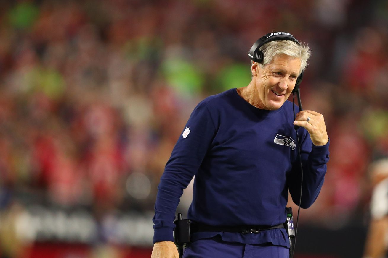 Did Pete Carroll just spill the beans about the Vikings trading for notable offensive lineman?
