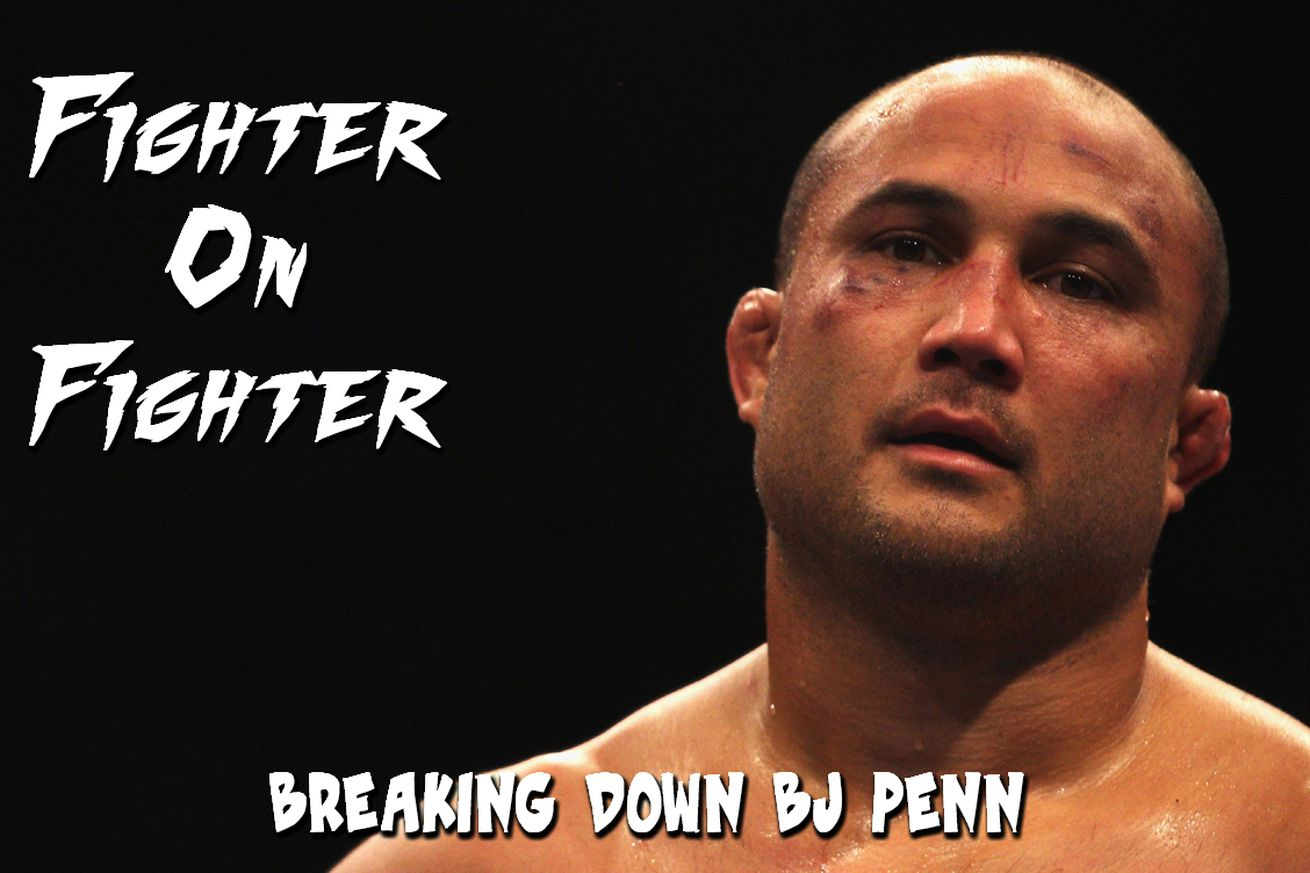 Fighter on Fighter: Breaking down UFC Fight Night 103's BJ Penn