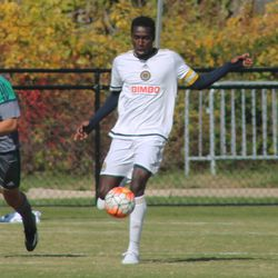 Playing center back against PA Classics in October 2015