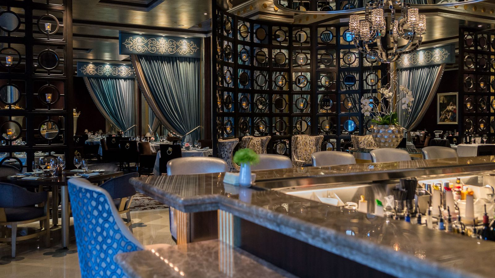 Prime Bellagio Menu >> Look How Lovely The New Lounge and Patio Are at Prime Steakhouse - Eater Vegas