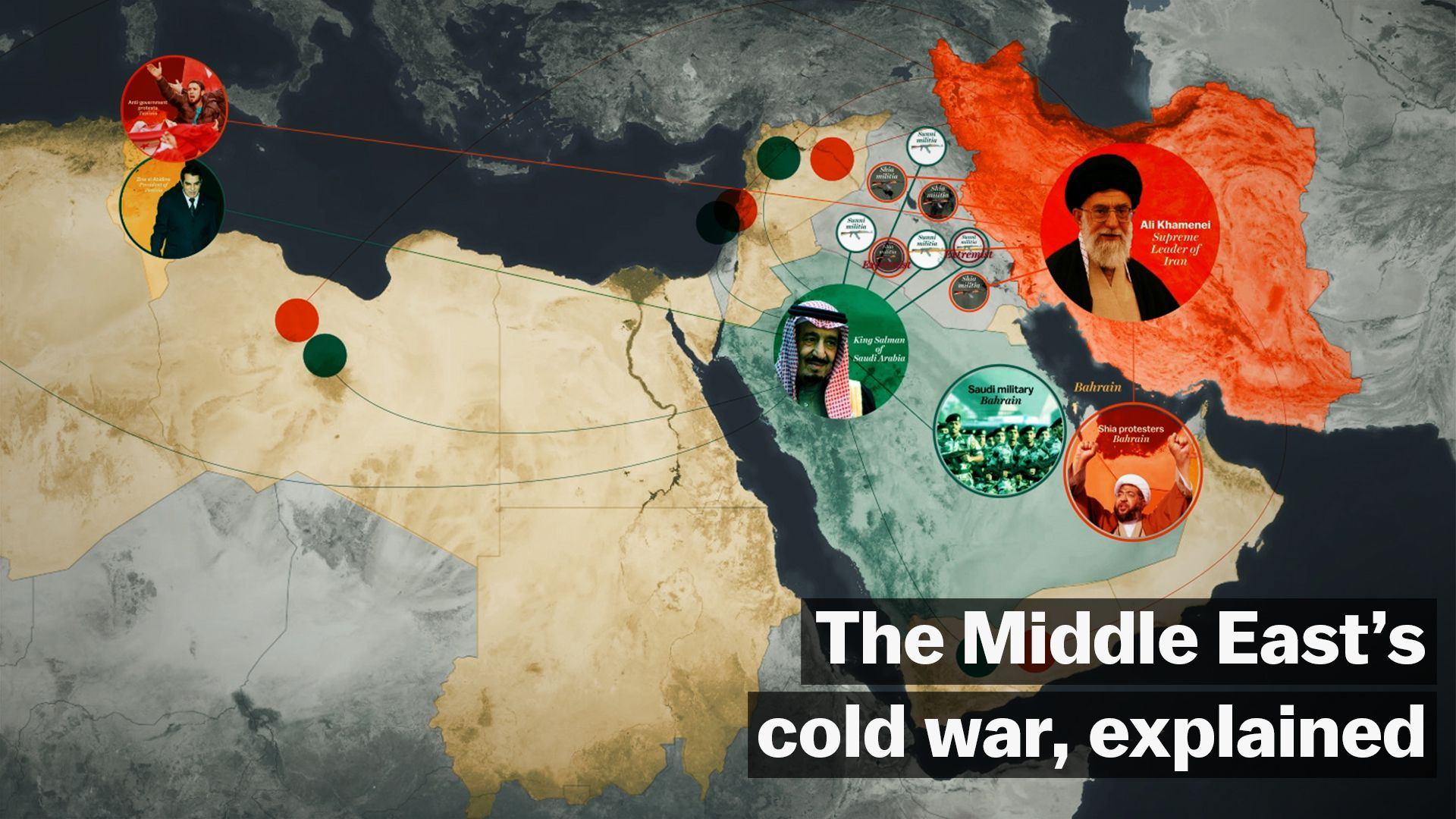 The Middle East's cold war, explained - Vox on map jordan and saudi arabia, map of bahrain and jordan, map of bahrain and surrounding countries, map of bahrain and india,