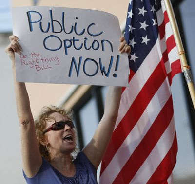 Activists Rally For Health Reform Public Option