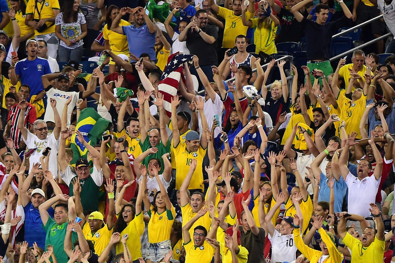 gillette stadium to host brazil group match and