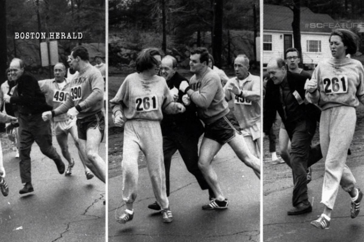 Army veteran with prosthetic leg carries woman across Boston Marathon finish line