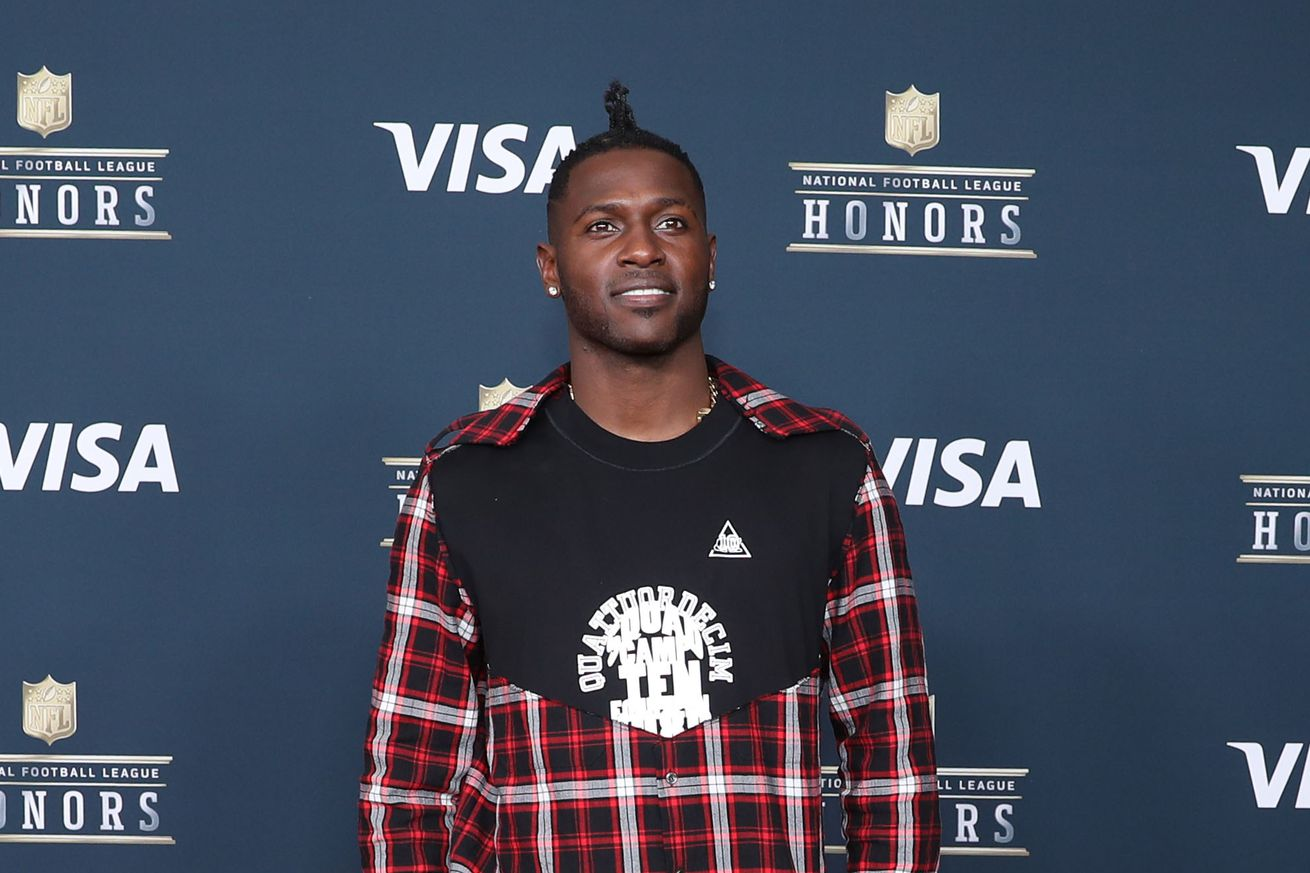 "Antonio Brown officially introduces ""Ronald Ocean"" on latest video"