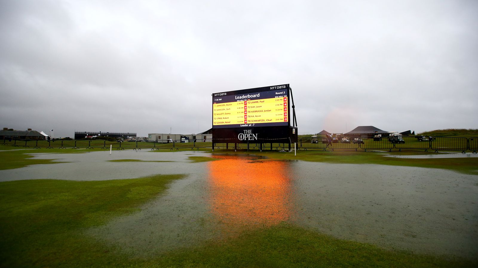 british open 2015  heavy rains at st  andrews force major