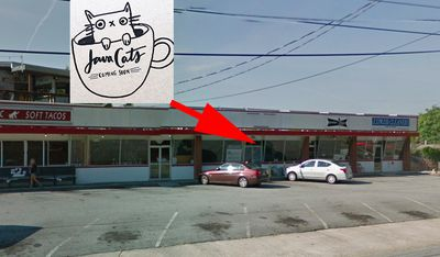 The future location for Java Cats Cafe.