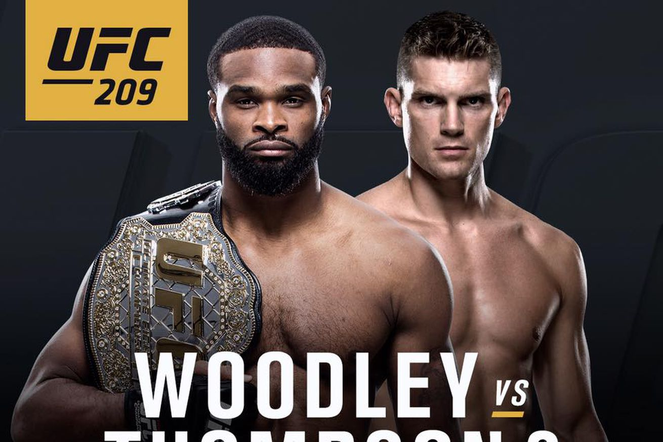 community news, Latest UFC 209 fight card, rumors for Woodley vs Thompson 2 on March 4 in Las Vegas