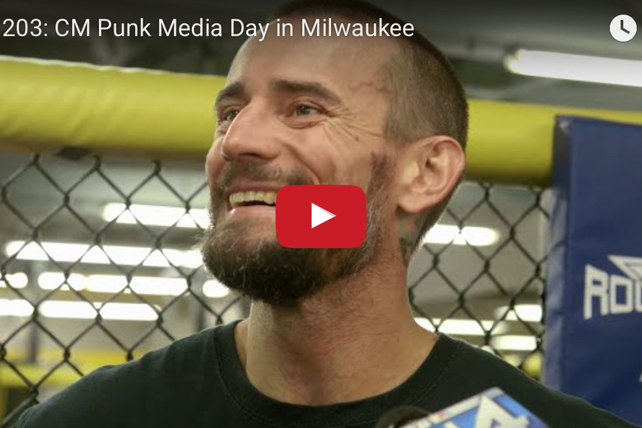 UFC 203: CM Punk media day video highlights from Milwaukee