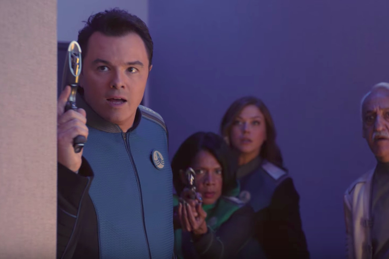 The first trailer for The Orville promises Star Trek crossed with Family Guy's humor
