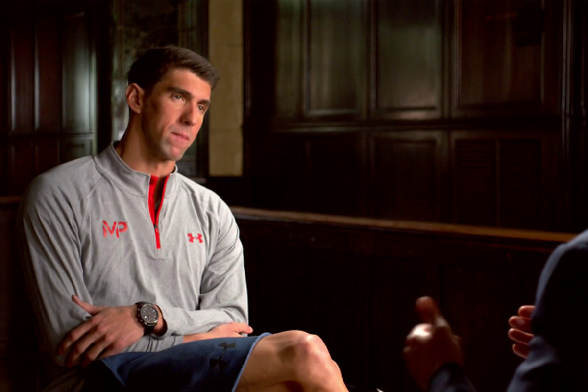 michael phelps was on an express elevator to the bottom floor as michael phelps prepares for his fifth and final olympics in rio he s as happy as he has ever been he s engaged to nicole johnson and he s a new father