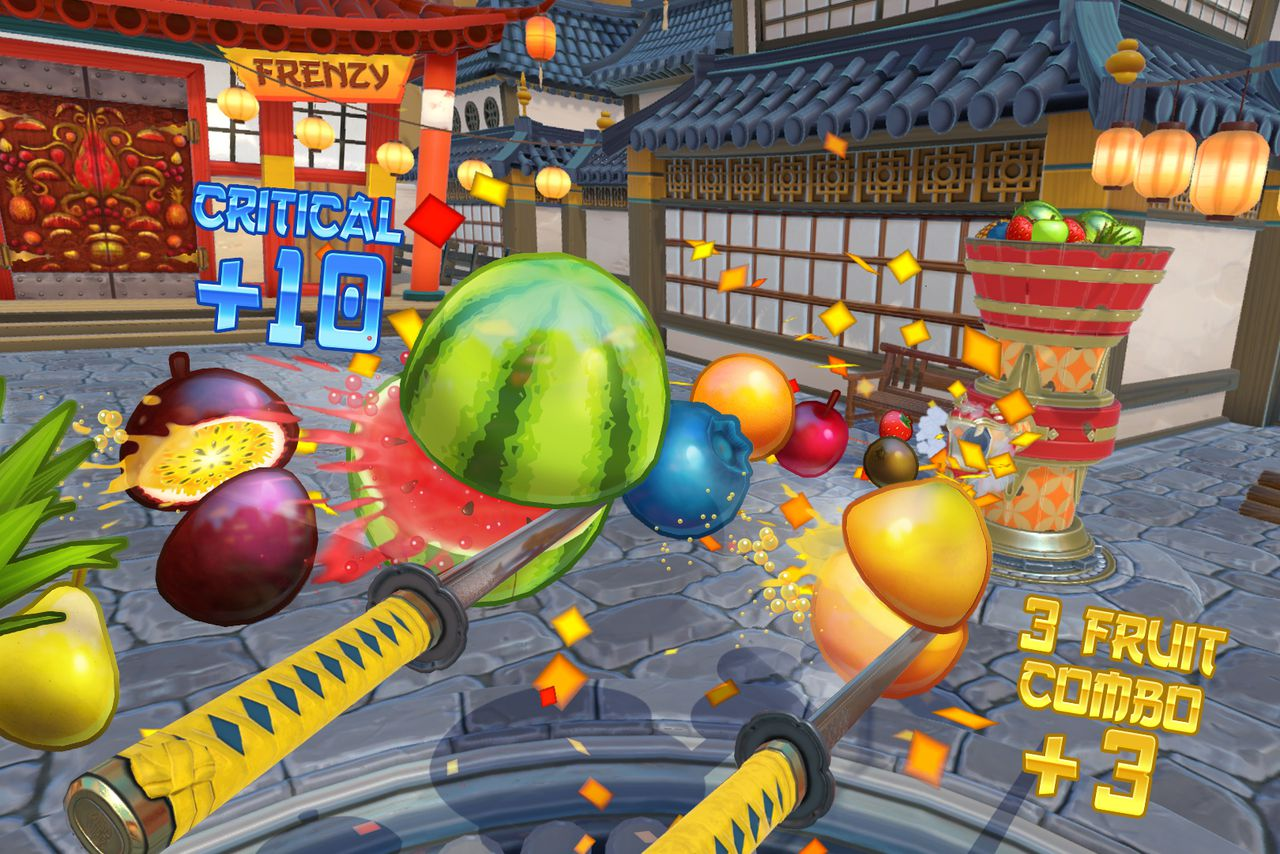 Fruit Ninja VR Gets Early Access Release On HTC Vive