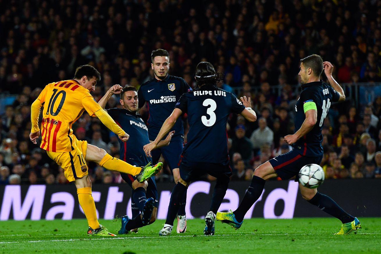 full match barcelona vs atletico madrid