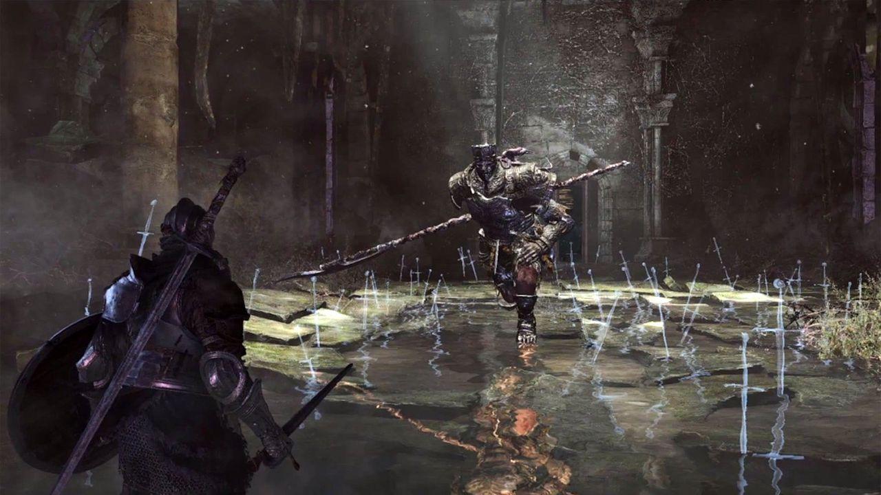 Dark souls 3 screenshots rumored gameplay details leak for Dark souls 3 architecture