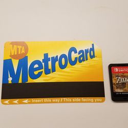 For New York City subway riders, a MetroCard is essential. We also expect to see plenty of Switch tablets on our morning commutes pretty soon.