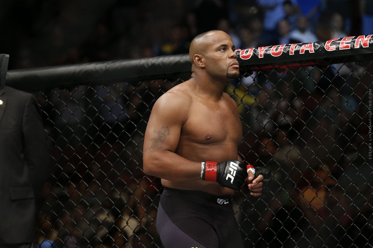Morning Report: Daniel Cormier is tired of Jon Jones getting a pass: You cheated. I know what you did.