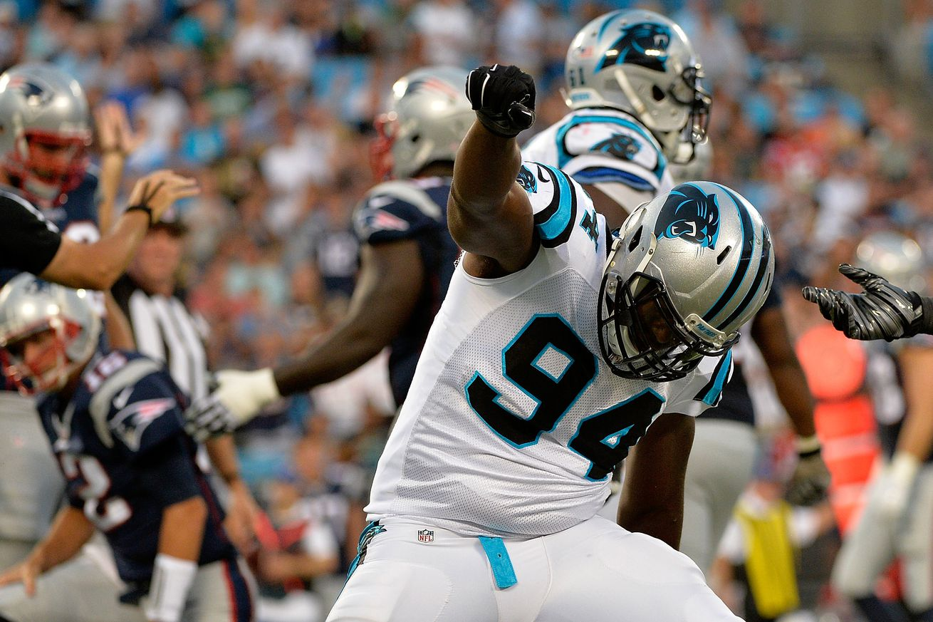Jerseys NFL Wholesale - Week 1: Carolina Panthers at Jacksonville Jaguars Defensive ...
