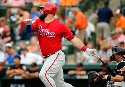 MLB: Spring Training-Philadelphia Phillies at Baltimore Orioles