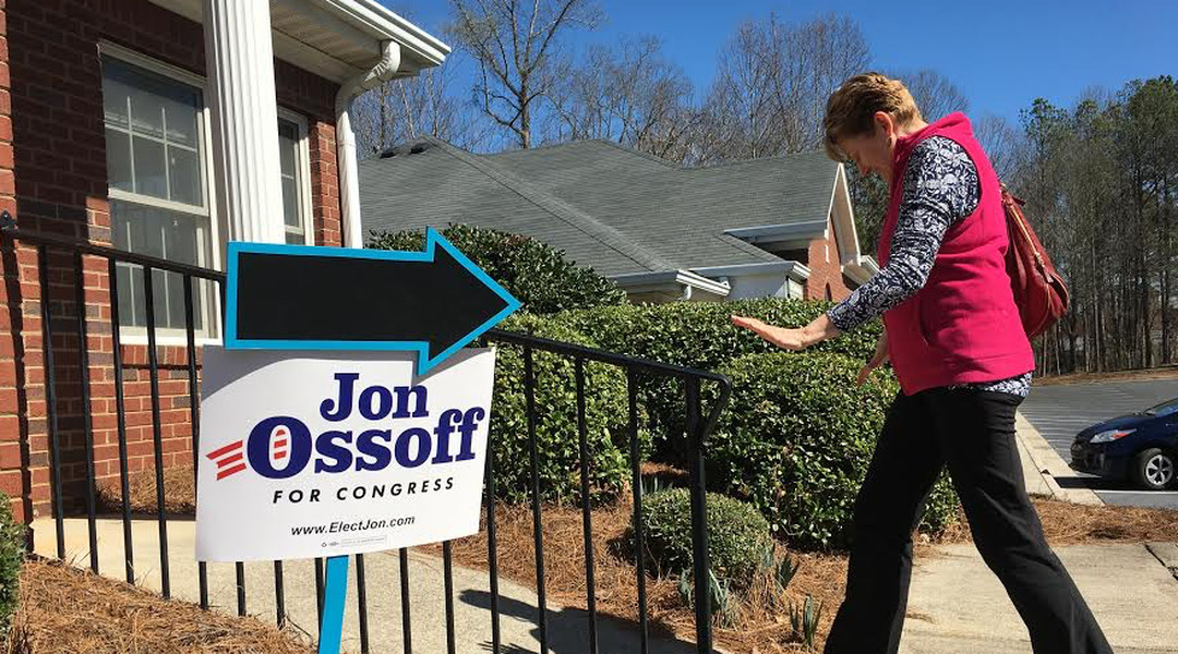 Georgia Dems normally raise $10,000 for this House seat. This April they'll have $3 million.