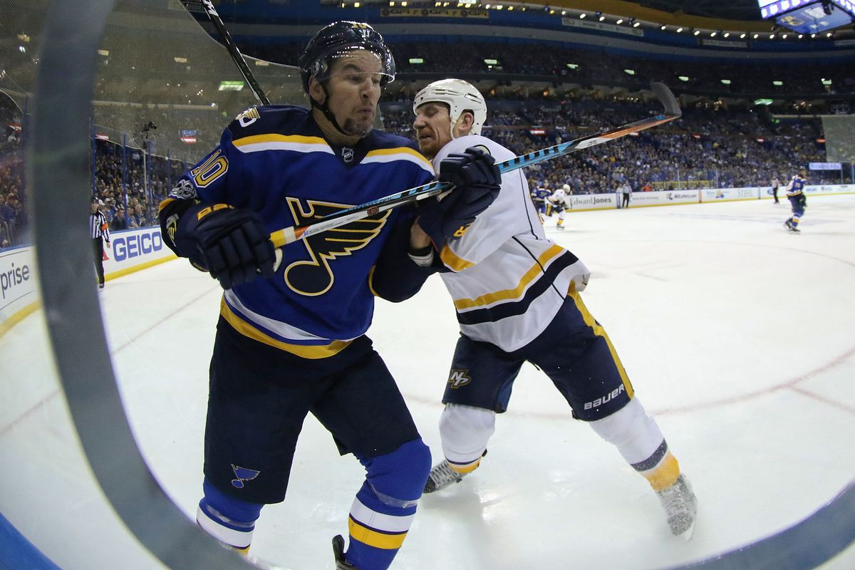 Blues edge Predators, even series