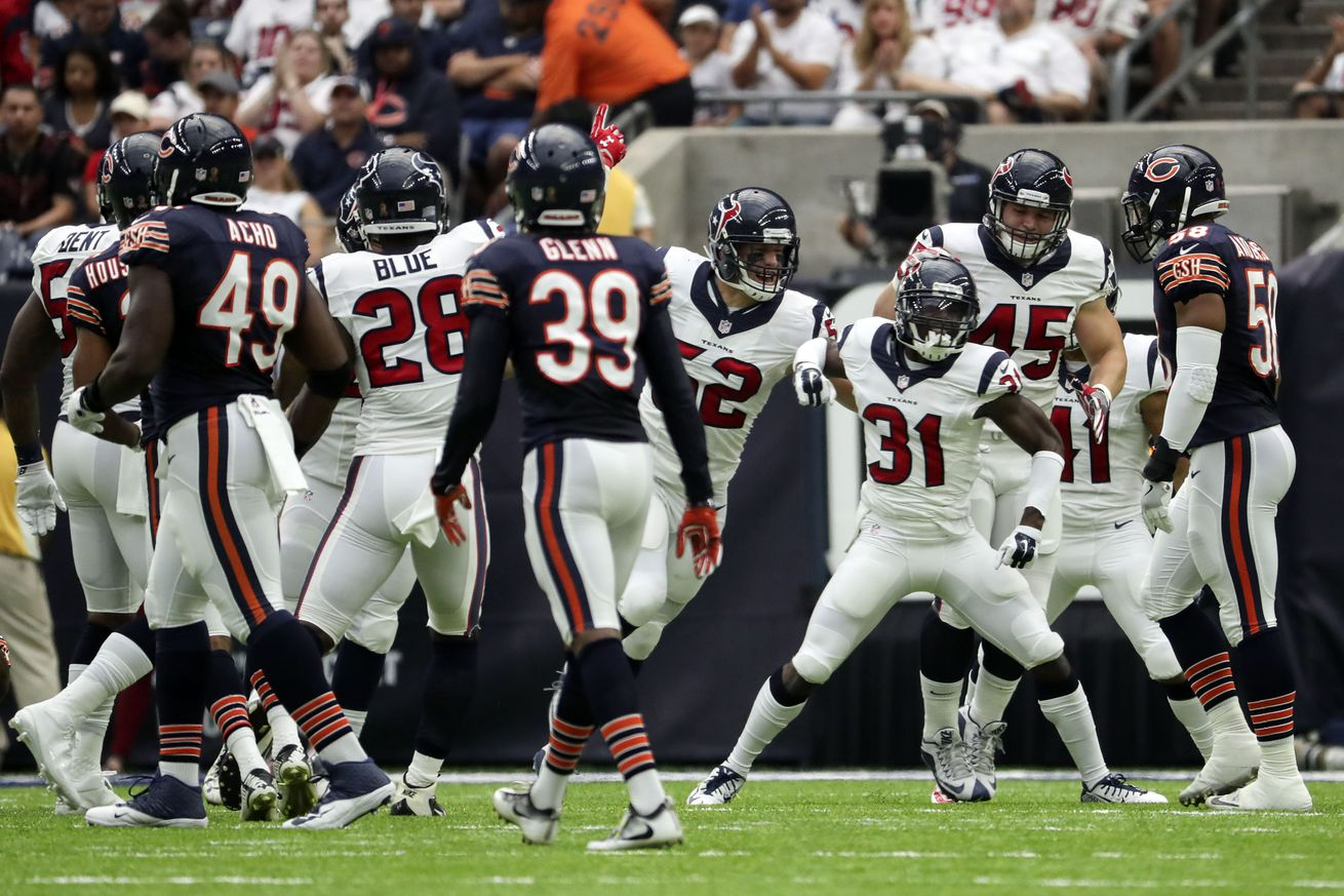 Bears vs. Texans: Negatives, Positives From a Chicago Loss