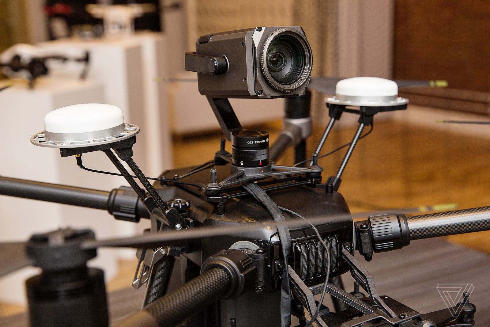 DJI announced the Matrice 200 all-weather 3-camera drone