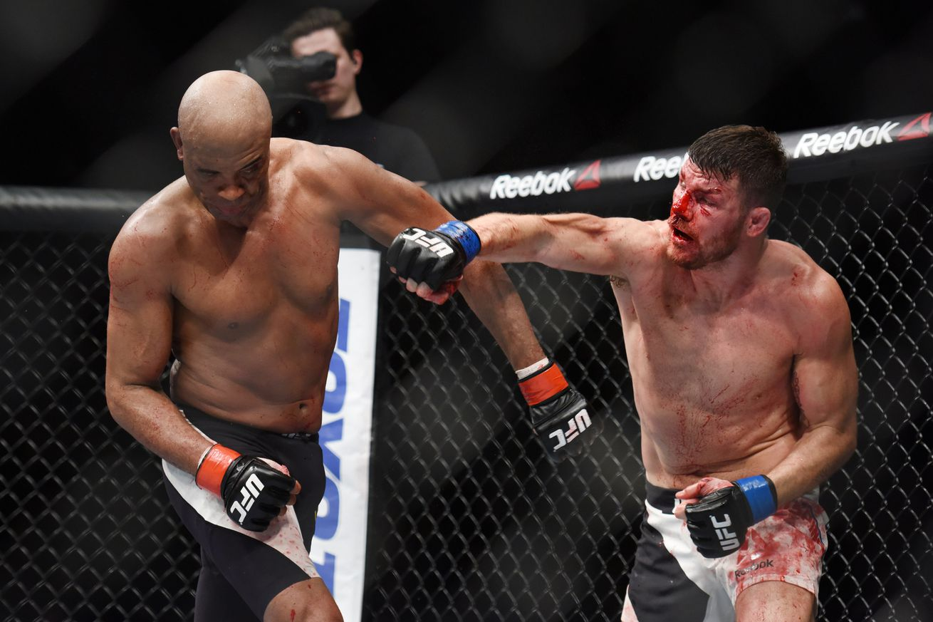 Watch Michael Bisping's upset win over Anderson Silva at UFC London
