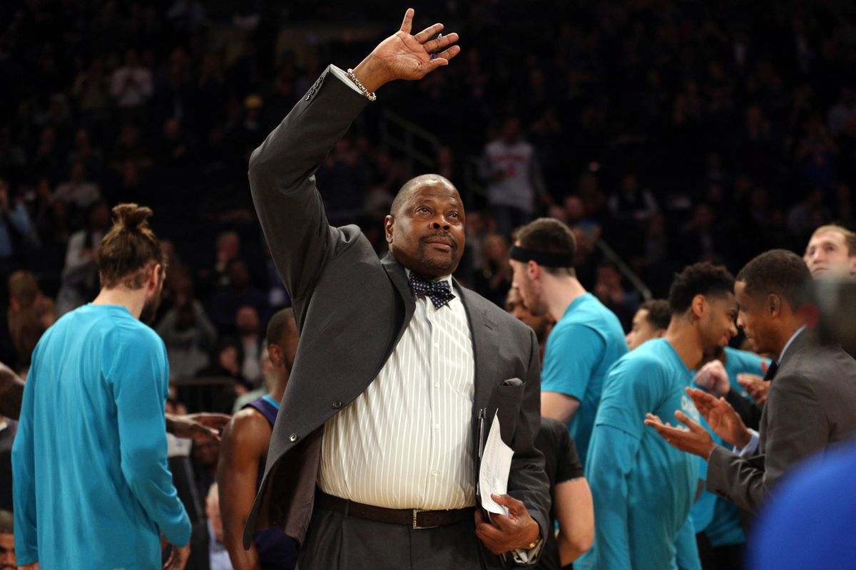 Hornets assistant Patrick Ewing named Georgetown men's basketball coach