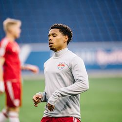 The Bermuda national-teamer scored a goal for NYRB II on his debut, against Richmond Kickers on April 1, 2017