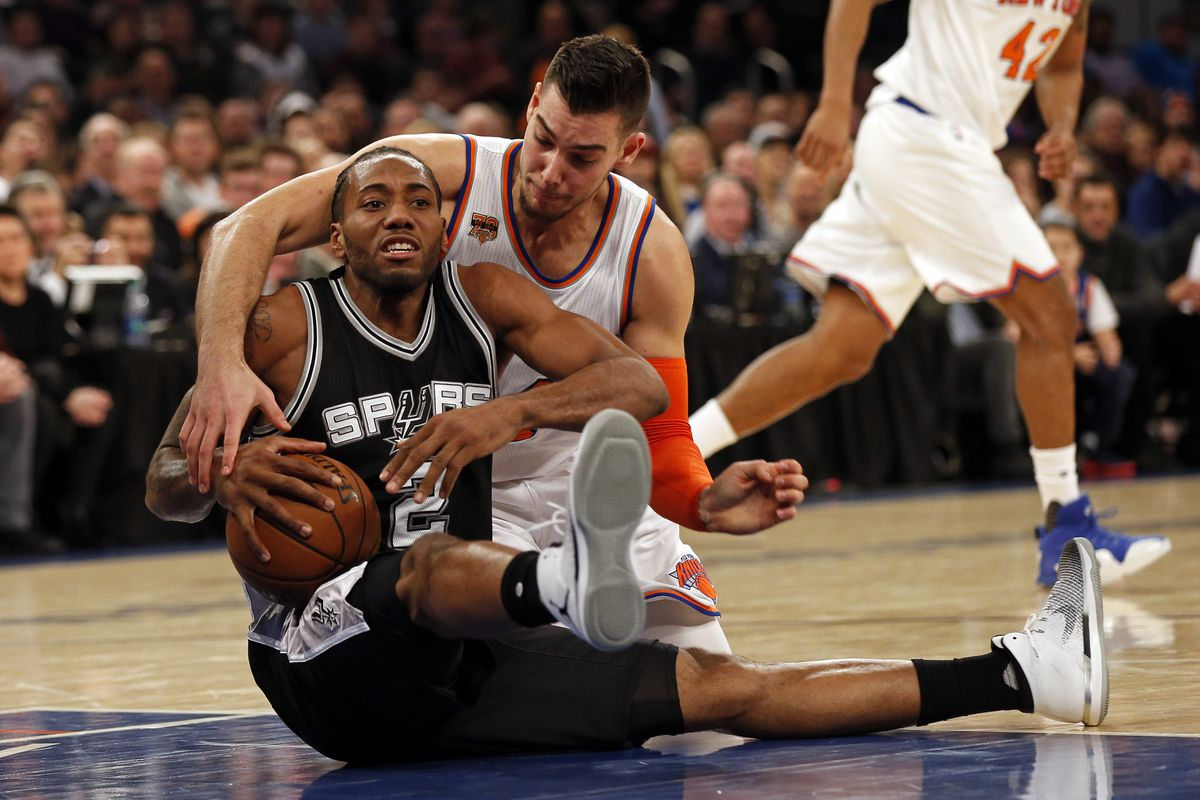 Leonard, Aldridge help Spurs topple Knicks, 106-98