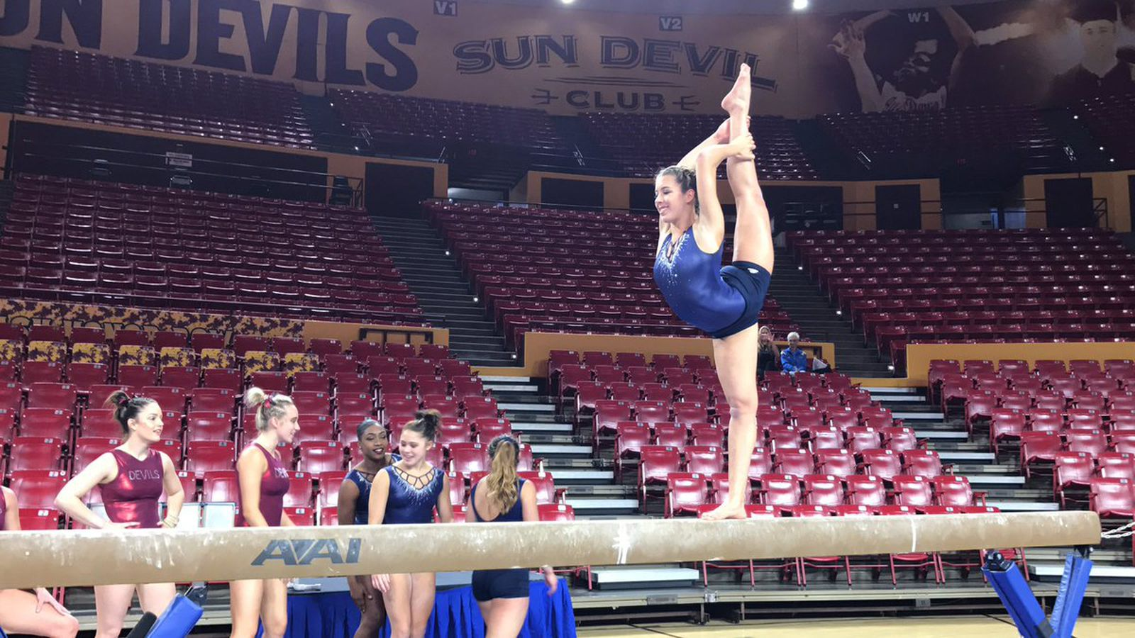 UCLA gymnastics team summons top score of season to win