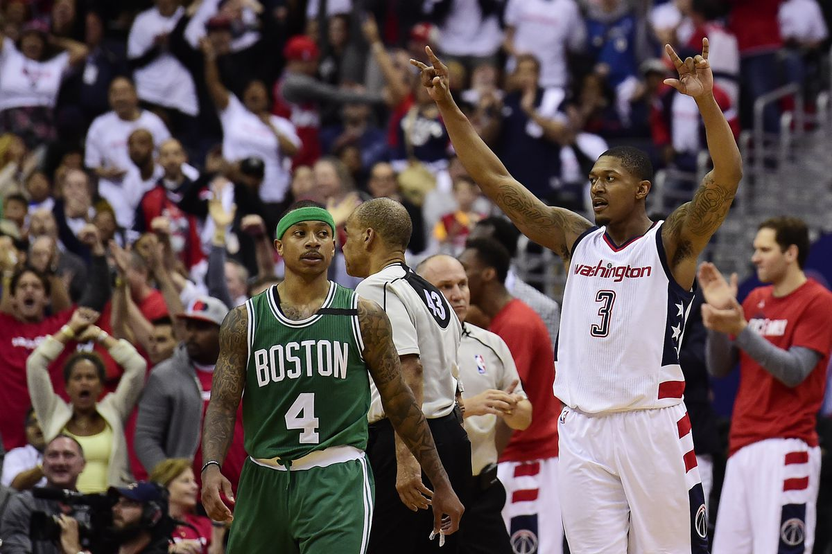 Bradley scores 29, Boston powers past Washington, 123-101