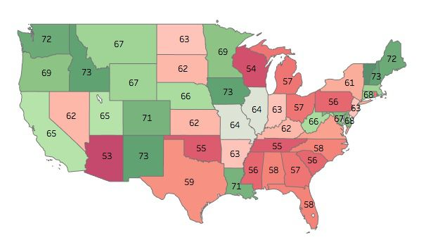 Electoral integrity in all 50 US states, ranked by experts - Vox