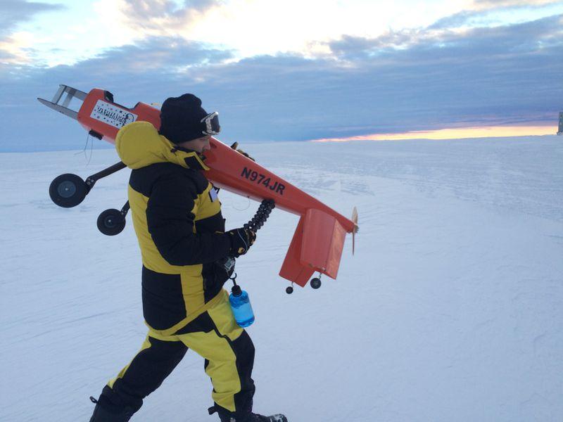 无人机可以帮助研究人员扫描监控南极冰架变化 第5张