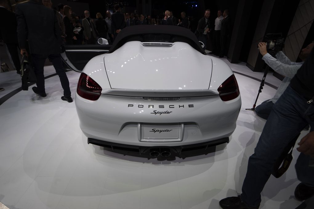 The Porsche Boxster Spyder Is The Simplest Lightest And