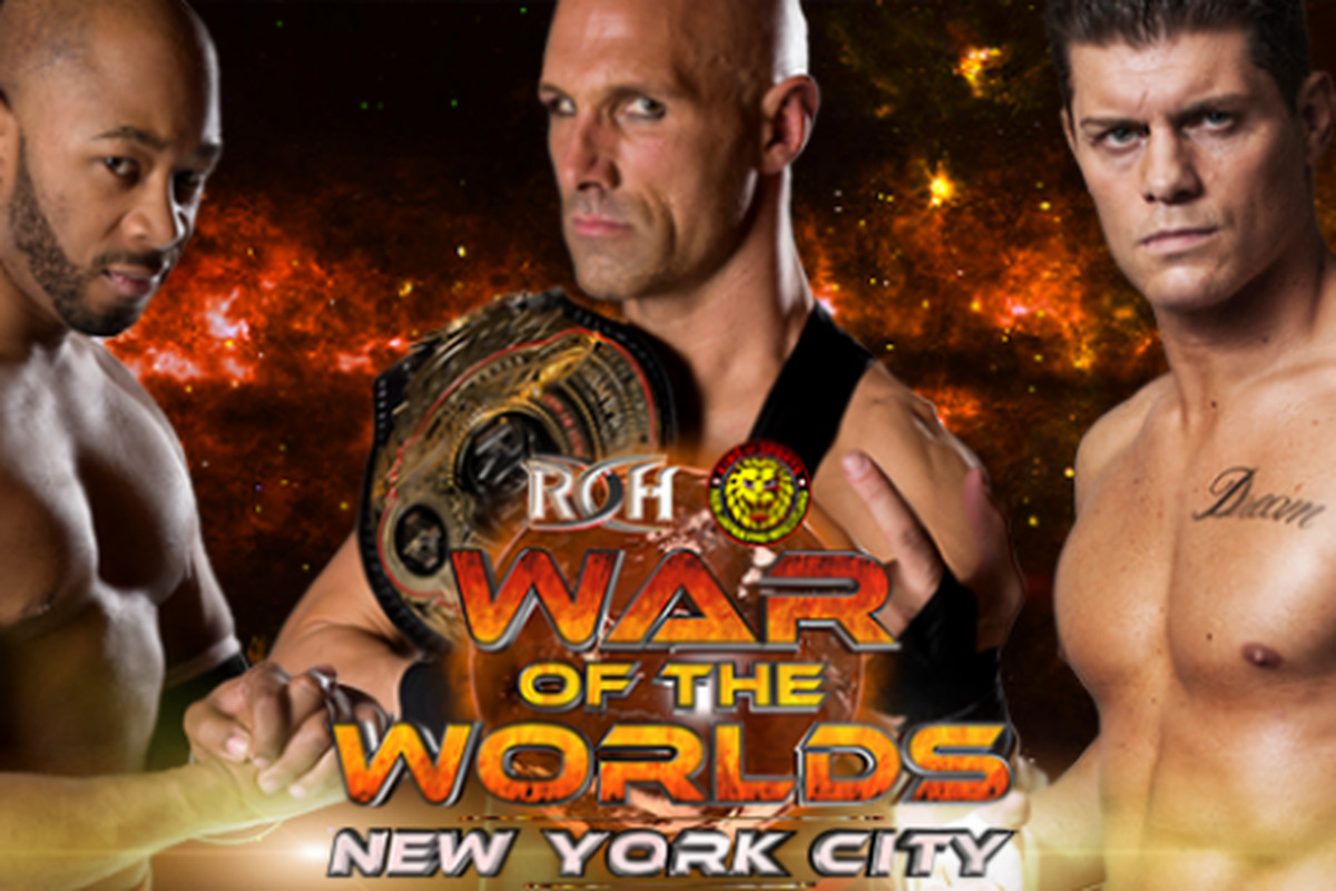 Image result for ROH - NJPW War Of The Worlds Results