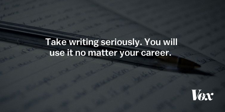 Do you write more in college English classes?