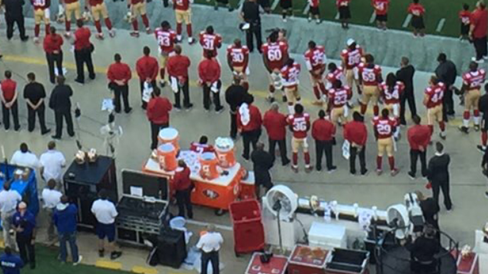colin kaepernick explains his decision to sit during national colin kaepernick explains his decision to sit during national anthem niners nation