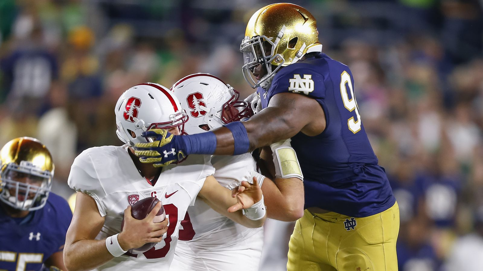 notre dame football game score yahoo news sports