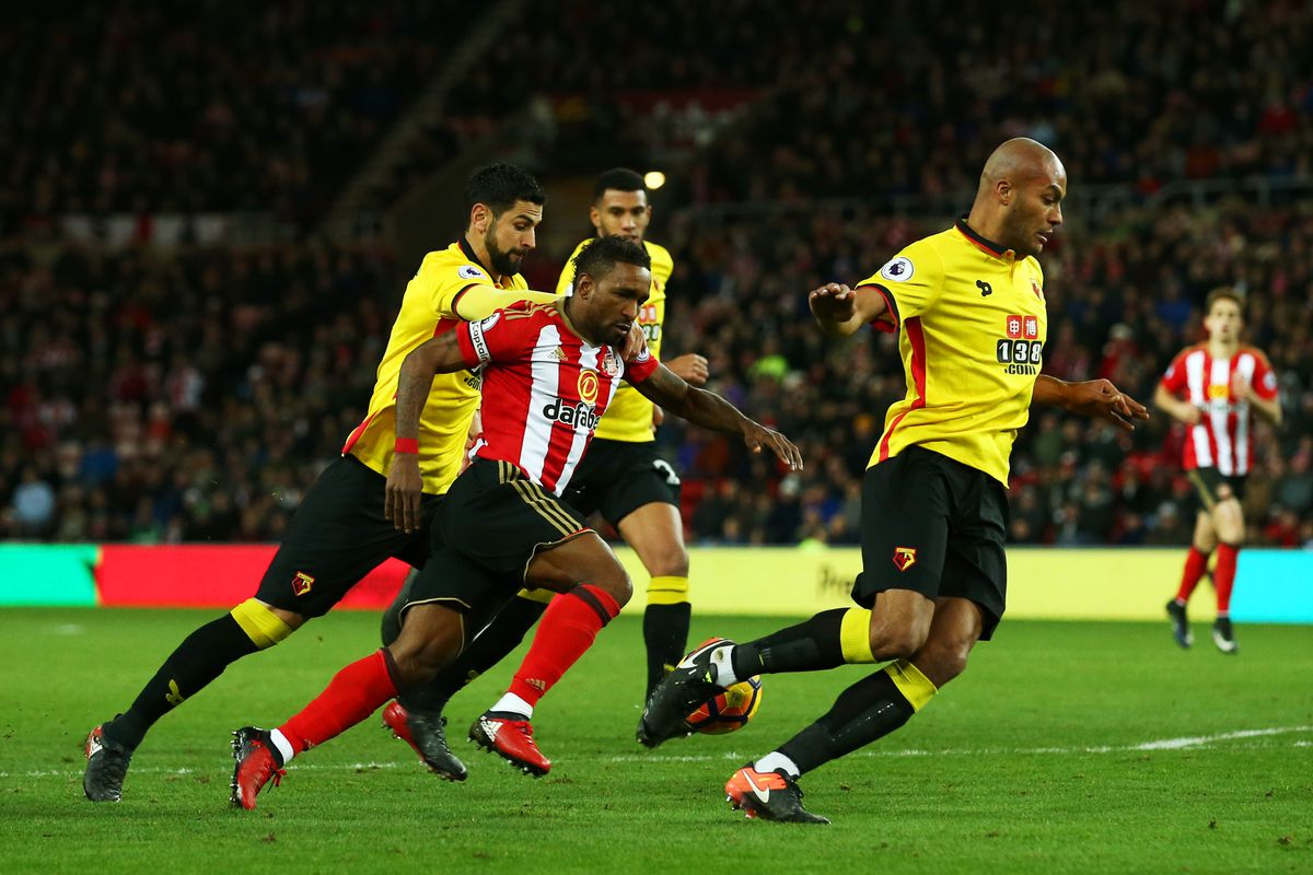 Deeney strikes again as 10-man Watford beat Albion