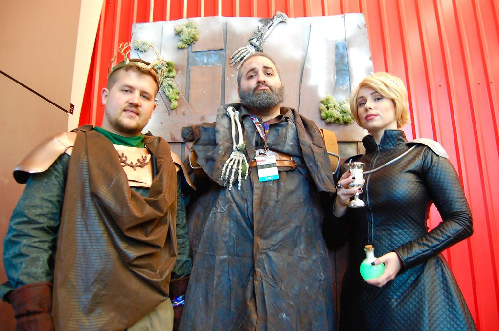 David Narozniak, Tony Patryn and Alicia Stermer, Renly Baratheon, Hodor and Cersi Lannister (Game of Thrones)