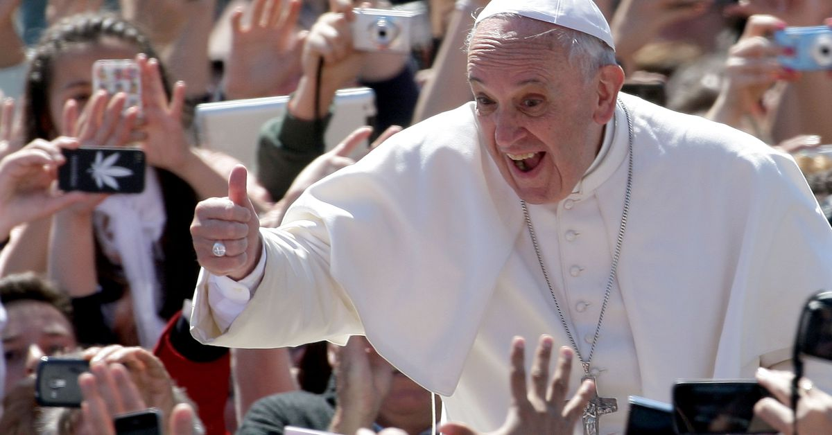 """Pope Francis warns """"history will judge"""" climate change deniers"""
