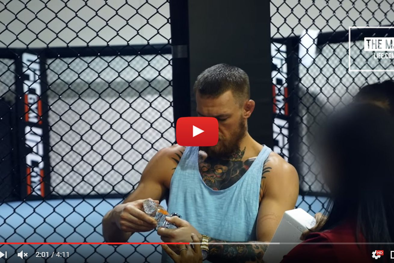 Video: Watch USADA hit Conor McGregor with surprise drug test ahead of UFC 202