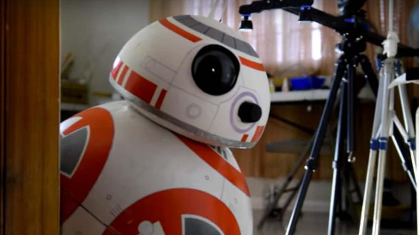 Make your own life-size BB-8 droid for $120 - The Verge