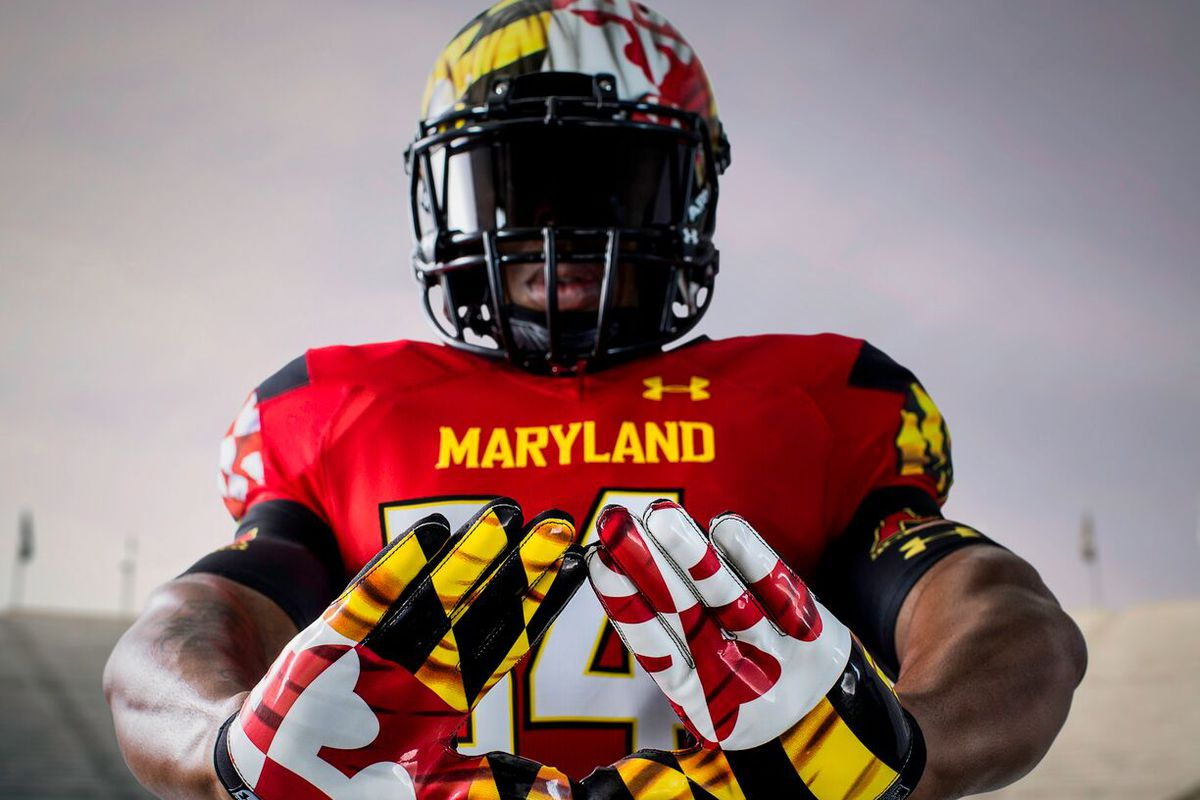 Maryland football's new Under Armour uniforms called ...